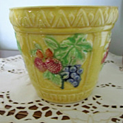 POT, Flower Pot, Circa 30's, Bright and Sunny