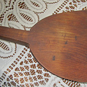 PRIMITIVE, Butter Paddle, Wooden, Extremely Vintage,Americana