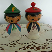 BOBBLE Heads, Two Oriental Cutie Pies