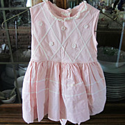 DRESS, Child's Pretty Pink Dress with Crinoline, Adorable