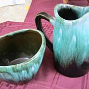 POTTERY, Blue Mountain, Canadian Pottery, Sugar/Creamer