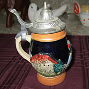 STEIN, Miniature Beer Stein, West Germany, marked