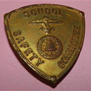 Vintage School Safety Badge