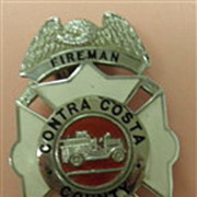 SALE PENDING Firemans Badge