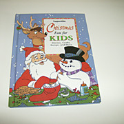 Tupperkids ~ Christmas Fun for Kids ~ Hard Cover Book ~ Tupperware