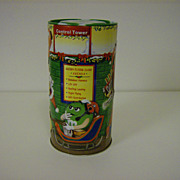 "M&M's Collector Tin ~ Christmas Village Series ~  "" The Flying Class"""