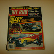 Hot Rod Magazine ~ December 1977 ~ Wild! Chevys & Vettes