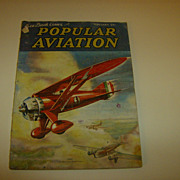 Popular Aviation ~ Magazine ~ February 1936