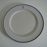 Shenango ~ US Navy ~ Dinner Plate