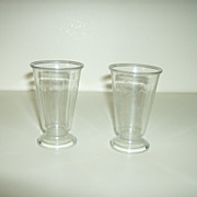 Juice Glasses ~ Gilbert Plastics ~Kenilworth NJ
