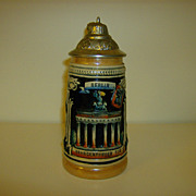 German Beer Stein ~ Zoller and Born ~ Berlin