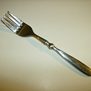 Hampton Silversmiths ~ Salad Fork ~ Bistro