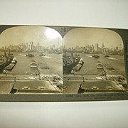 New York City Stereoview - Keystone View Company 1907