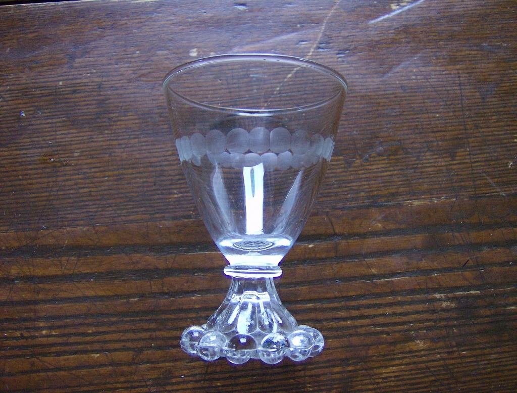 Etched boopie glass by anchor hocking from marysmenagerie on ruby lane