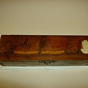 Cedar Jewelry Box with Cameo ~ Wichita Falls, Texas