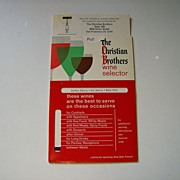 The Christian Brothers Wine Selector