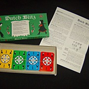 """Dutch Blitz"" ~ A Pennsylvania Dutch Card Game"