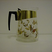 Douglas Glass Coffee Carafe ~ 1950's