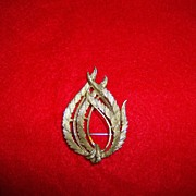 BSK Feather Brooch