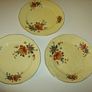 Antique Ivory from Salem Dinner Plates
