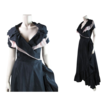 Flouncy 1950's Black Taffeta & Pink Tulle Cocktail Dress With Martini Label