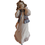 "REDUCED Lladro,""Dreams of a Summer Past"" In Original Box, Retired"