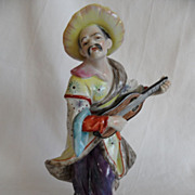 REDUCED Aelteste Volkstedter Porzellan,  Figurine, Elaborate Hand Painting, Ca 1900