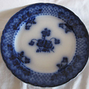REDUCED Flow Blue Ford & Sons Plate &quot;Chatsworth&quot; , Gorgeous