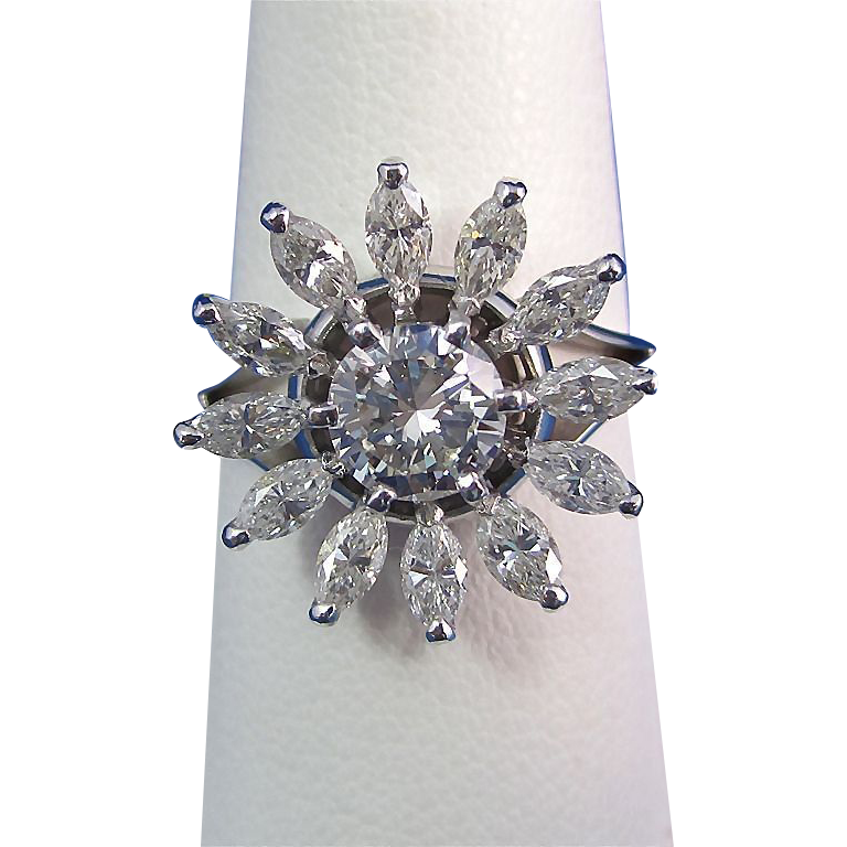 K Jabel Diamond Ring
