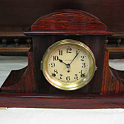 Seth Thomas Adamantine 2-Spring Mantel Clock, circa 1910