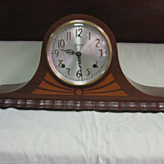 SALE PENDING Sessions 2-Spring Tambour Bim-Bam Mantle Clock
