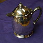 REDUCED Vintage Silver Plated Syrup Pitcher