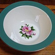 "Empire Green 9"" Vegetable Dish"