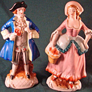 French Porcelain Figurines Made In Occupied Japan