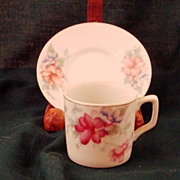 Made in Occupied Japan Demitasse Cup and Saucer