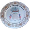 Aynsley China Commemorative Sailing of the Mayflower Dinner Plate
