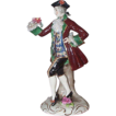 Volkstedt Ackermann & Fritze Porcelain Figurine of Gentleman - Germany