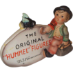 Hummel Dealer Plaque with bumblebee Perched on Top - TMK4