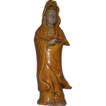 Rare signed Kutani Kuan Yin/Guan Yin  Figurine - early piece