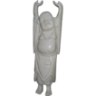 Carved Ox Bone Chinese Buddha