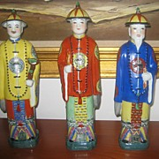 Three Mid Century Chinese Figurines - Impressive