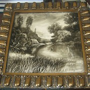 SOLD Minton's China Works  1900's Century Tile