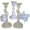 Pair of Portieux Mousquetaire Candlesticks -