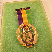 New Orleans Mardi Gras Rex Krewe Ducal Medal - 1983