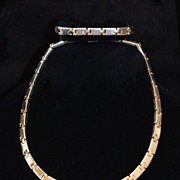 SALE Rare Tiffany & Co. 18kt Gold & Sterling Link Necklace Set