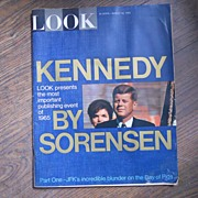 Kennedy by Sorensen - Look Magazine - Aug. 10, 1965
