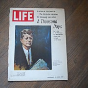 Kennedy Narrative by Schlesinger - Life Magazine - November 5, 1965