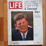 Kennedy -1st in a series by Arthur Schlesinger, Jr -11 Life Magazine- July 1965