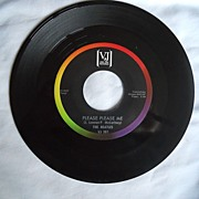 Beatles 45 RPM Record -Please,Please Me & From Me to You