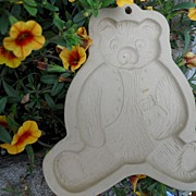 REDUCED Brown Bag Cookie Mold - Teddy Bear